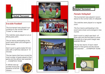 Brochure Comenius Retro